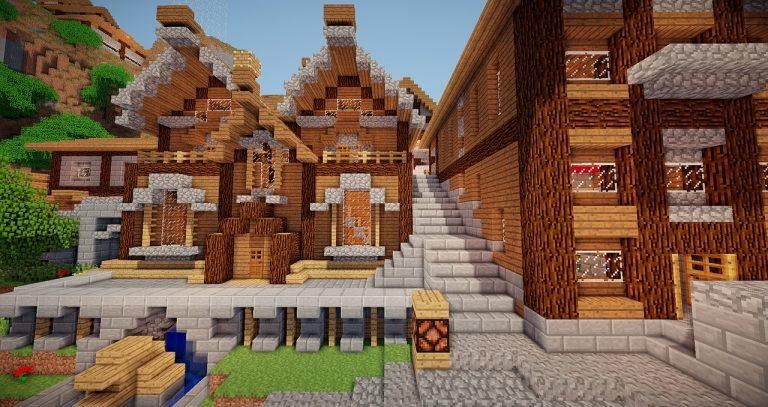 Comment faire une belle maison dans minecraft ?